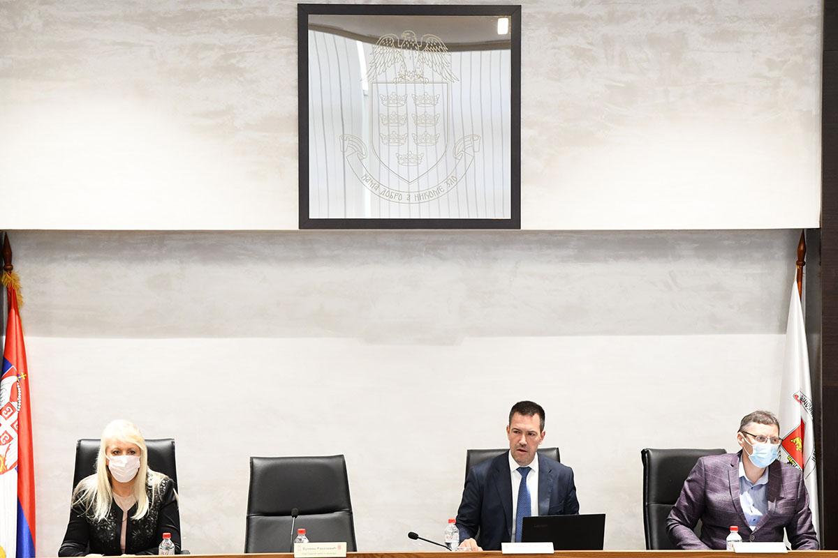 Tридесет трећа седница Градског већа града Краљева 14.06.2021.