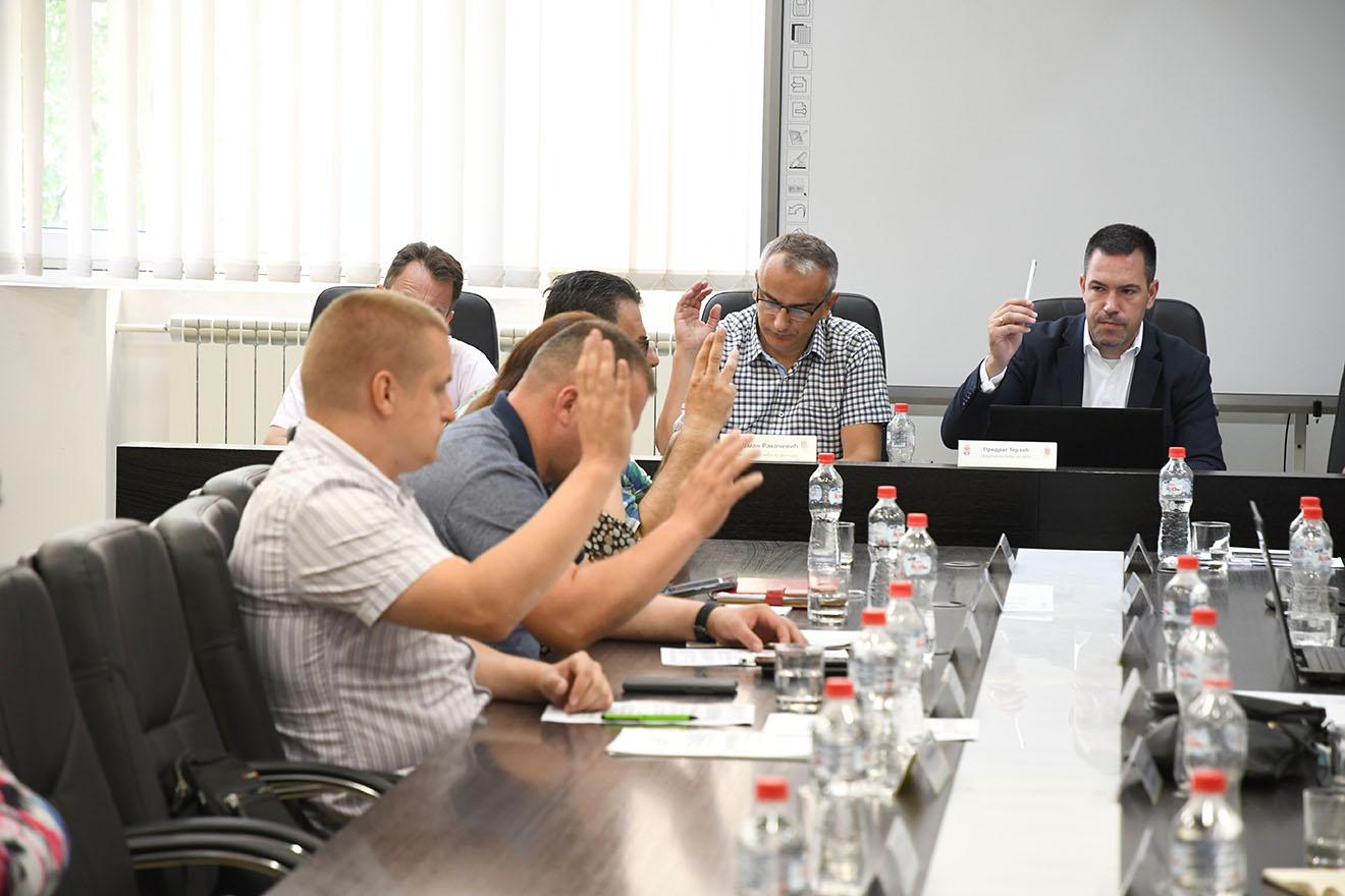 Четрдесета седница Градског већа града Краљева 30.07.2021.