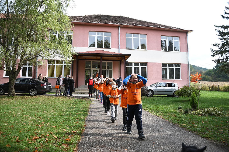Међународни дан смањења ризика од природних катастрофа – вежба евакуације у случају земљотреса у школи у Годачици